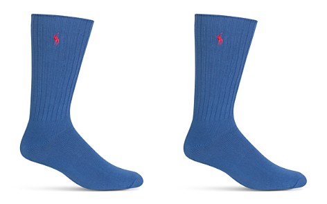 Polo Ralph Lauren Ribbed Crew Socks - Bloomingdale's_2