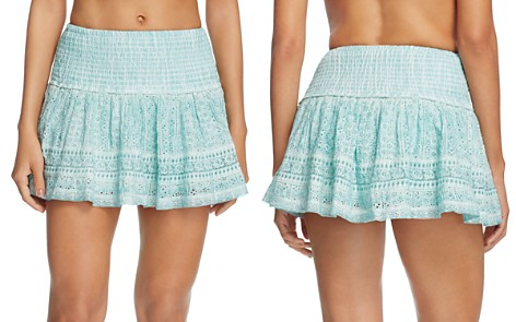 Surf Gypsy Washed Eyelet Mini Skirt Swim Cover-Up - Bloomingdale's_2