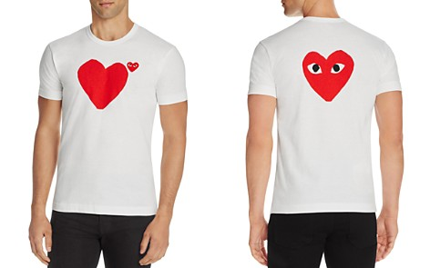 Comme Des Garçons PLAY Heart Graphic Tee - Bloomingdale's_2