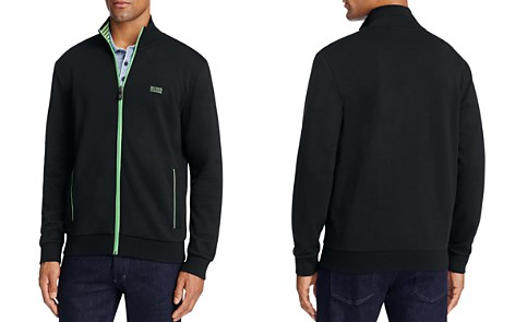 BOSS Green Skaz Contrast Trim Zip Sweatshirt - Bloomingdale's_2