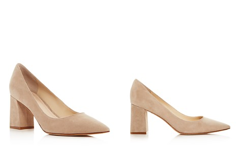 Marc Fisher LTD. Zala Suede Pointed Toe Pumps - Bloomingdale's_2