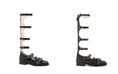 Gucci Queercore Gladiator Flats - Bloomingdale's_2
