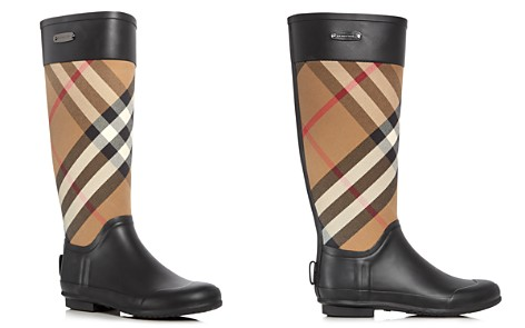 Burberry Women's Clemence Signature Check Rain Boots - Bloomingdale's_2