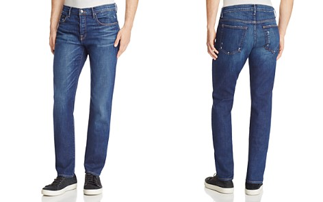 FRAME L'homme Straight Fit Jeans in Niagara - Bloomingdale's_2