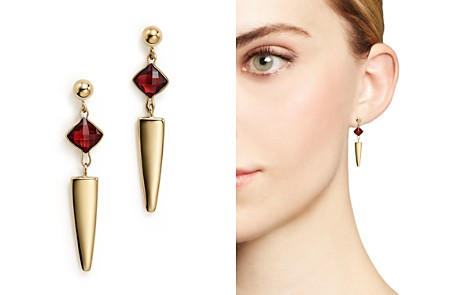 Garnet Dagger Drop Earrings in 14K Yellow Gold - 100% Exclusive - Bloomingdale's_2