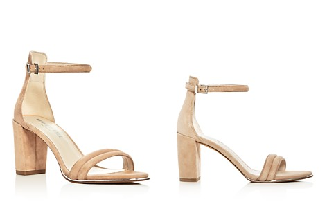 Kenneth Cole Lex Suede Ankle Strap Block Heel Sandals - Bloomingdale's_2