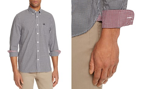 Fred Perry Gingham Slim Fit Button-Down Shirt - Bloomingdale's_2