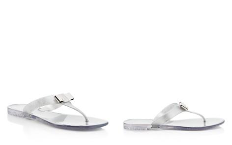 Salvatore Ferragamo Jelly Thong Sandals - Bloomingdale's_2