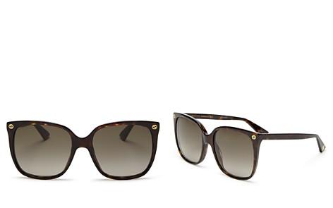 Gucci Women's Square Sunglasses, 57mm - Bloomingdale's_2