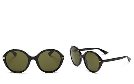Gucci Women's Round Sunglasses, 55mm - Bloomingdale's_2