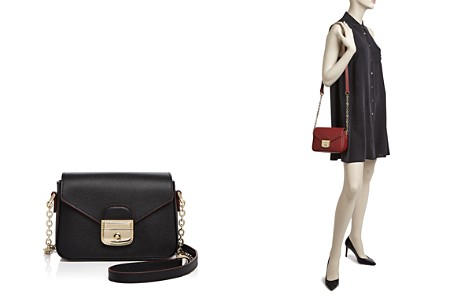 Longchamp Le Pliage Heritage Small Leather Crossbody - Bloomingdale's_2