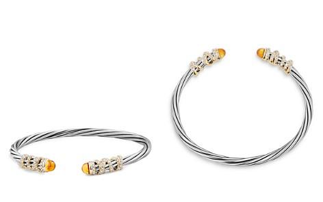 David Yurman Helena End Station Bracelet with Citrine, Diamonds and 18K Gold - Bloomingdale's_2