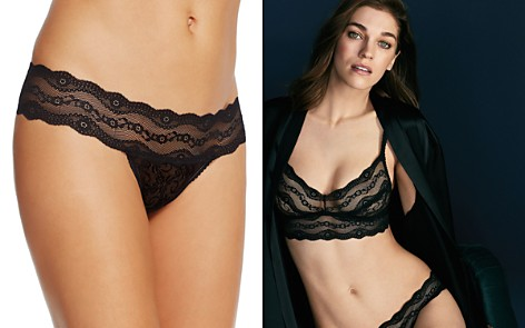 b.tempt'd by Wacoal Lace Kiss Thong - Bloomingdale's_2
