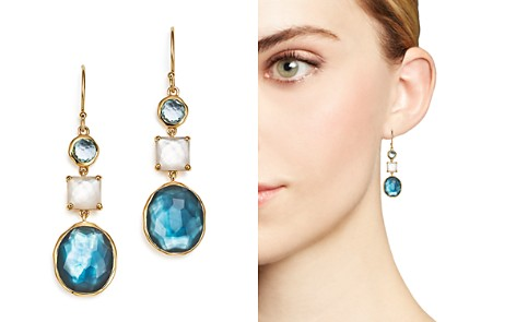 IPPOLITA 18K Yellow Gold Rock Candy® 3-Stone Drop Earrings in Raindrop - Bloomingdale's_2
