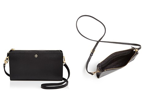 Tory Burch Robinson Pebbled Leather Wallet Crossbody - Bloomingdale's_2
