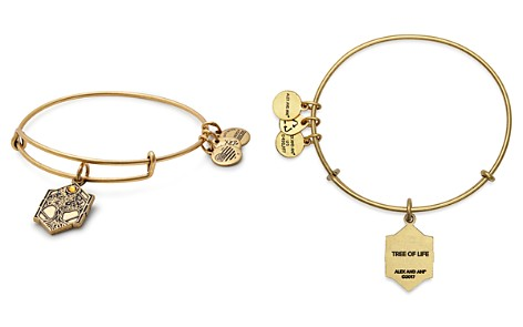 Alex and Ani Tree of Life Expandable Wire Bangle - Bloomingdale's_2