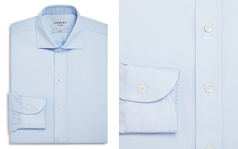 Ledbury Fine Twill Slim Fit Dress Shirt - Bloomingdale's_2