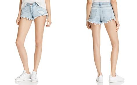 Pistola Gigi Low Rise Denim Shorts in New Era - 100% Exclusive - Bloomingdale's_2
