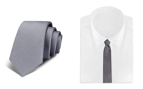 Bloomingdale's Boys Boys' Solid Silk Tie - 100% Exclusive_2