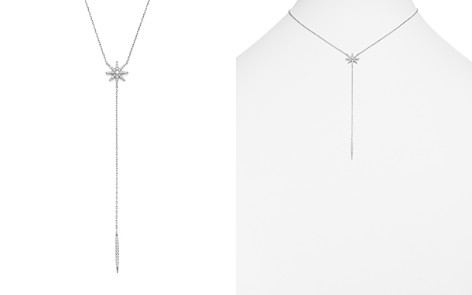 Diamond Starburst Y Necklace in 14K White Gold, .33 ct. t.w. - 100% Exclusive - Bloomingdale's_2