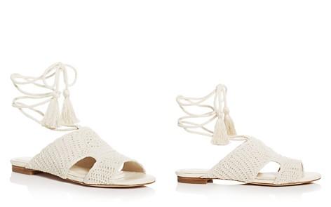 Joie Fai Crochet Ankle Tie Sandals - Bloomingdale's_2