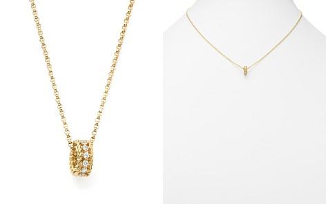 "Roberto Coin 18K Yellow Gold Symphony Princess Diamond Necklace, 18"" - Bloomingdale's_2"