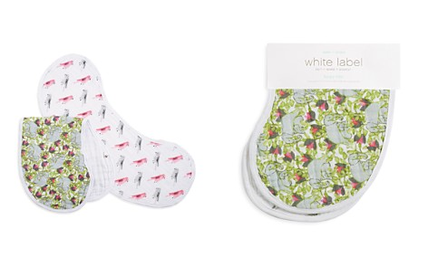 Aden and Anais White Label Infant Girls' Paradise Cove Burpy Bibs, 2 Pack - Bloomingdale's_2