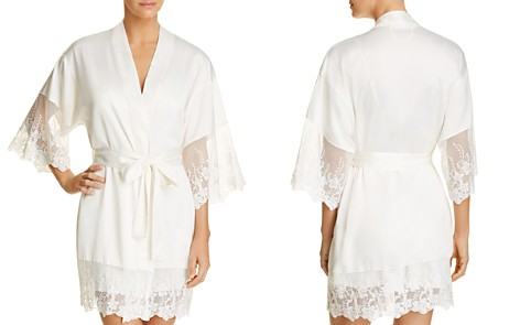 Flora Nikrooz Farrah Charmeuse Cover-Up Robe - Bloomingdale's_2