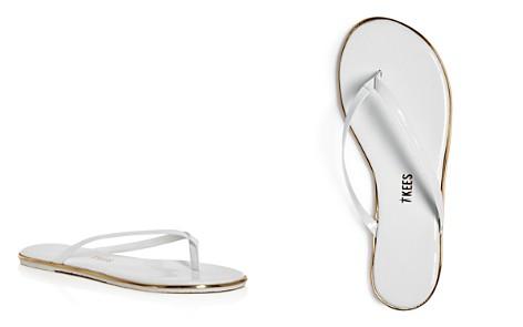 TKEES Patent Leather Flip Flops - Bloomingdale's_2