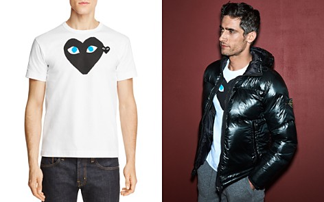 Comme Des Garcons PLAY Black Heart Blue-Eye Tee - Bloomingdale's_2