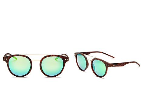 Polaroid Polarized Mirrored Round Sunglasses, 49mm - Bloomingdale's_2