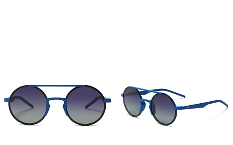 Polaroid Women's Round Frame Sunglasses, 50mm - Bloomingdale's_2