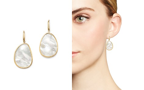 Marco Bicego 18K Yellow Gold Lunaria Mother-of-Pearl Drop Earrings - Bloomingdale's_2