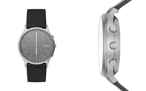 Skagen Jorn Black Leather Strap Hybrid Smartwatch, 41mm - Bloomingdale's_2