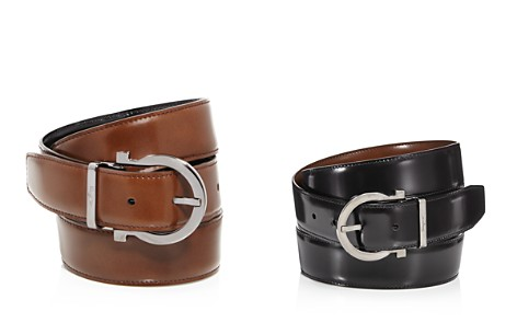 Salvatore Ferragamo Belt with Gancio Buckle - Bloomingdale's_2