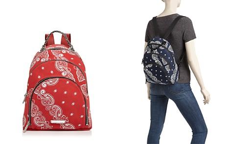 KENDALL and KYLIE Sloane Bandana Print Backpack - Bloomingdale's_2