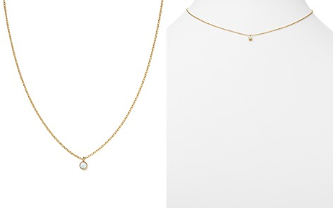 "Zoë Chicco 14K Yellow Gold Opal Drop Choker Necklace, 14"" - Bloomingdale's_2"