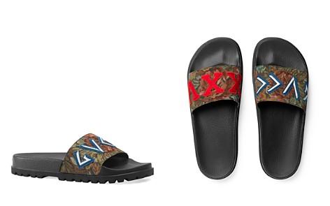 Gucci Men's Floral Brocade Slide Sandals - Bloomingdale's_2