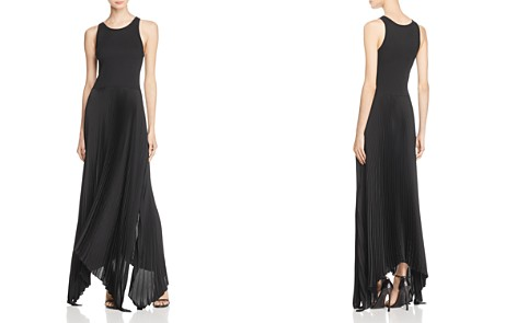 Theory Vinessi Pleated Maxi Dress - Bloomingdale's_2