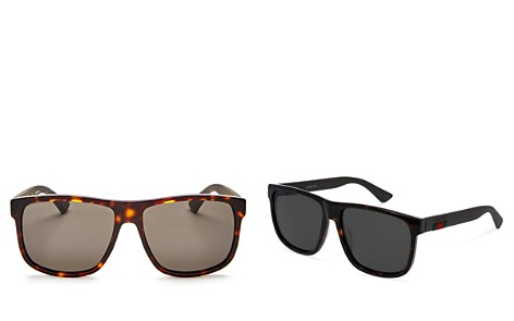 Gucci Square Sunglasses, 60mm - Bloomingdale's_2