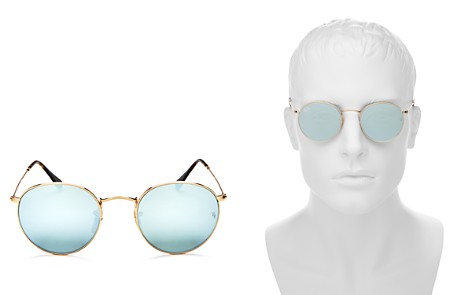 Ray-Ban Unisex Mirrored Round Sunglasses, 50mm - Bloomingdale's_2