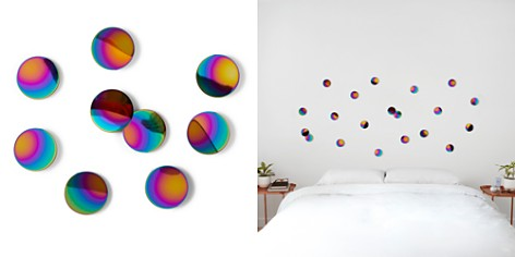 Umbra Peel n' Stick Rainbow Confetti Dots, Set of 10 - Bloomingdale's_2