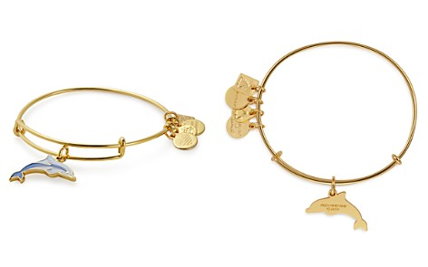 Alex and Ani Water II Expandable Wire Bangle - Bloomingdale's_2