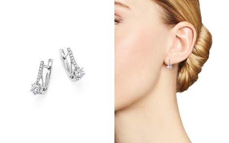 Diamond Small Drop Earrings in 14K White Gold, .25 ct. t.w. - 100% Exclusive - Bloomingdale's_2