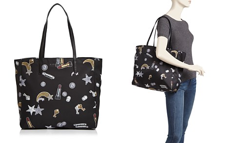 MARC JACOBS Tossed Charms Printed Nylon Tote - Bloomingdale's_2