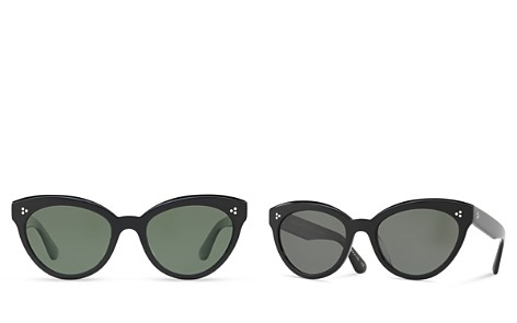 Oliver Peoples Women's Roella Polarized Cat Eye Sunglasses, 55mm - Bloomingdale's_2