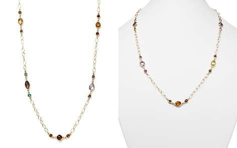 """Multi Gemstone Chain Necklace in 14K Yellow Gold, 28"""" - 100% Exclusive - Bloomingdale's_2"""