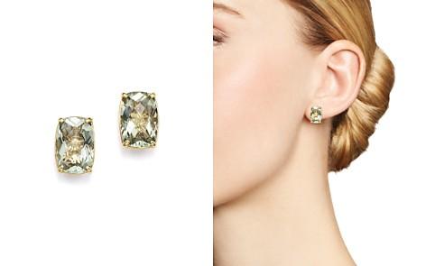 Green Amethyst Stud Earrings in 14K Yellow Gold - 100% Exclusive - Bloomingdale's_2