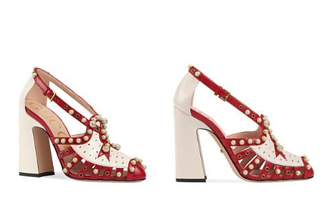 Gucci Tracy Embellished Ankle Strap Pumps - Bloomingdale's_2