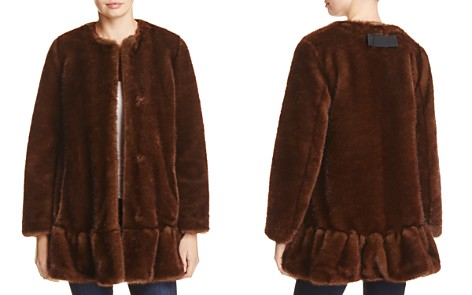 kate spade new york Faux Mink Fur Coat - Bloomingdale's_2